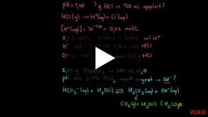 pH-berekeningen Voorbeelden