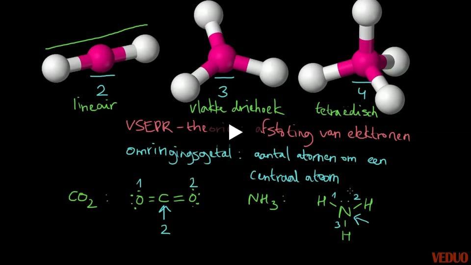 Ruimtelijke bouw van moleculen