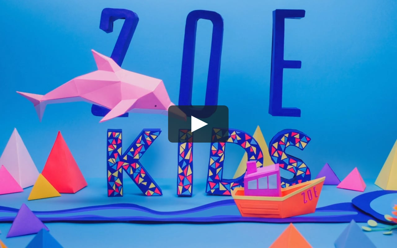 Papercraft Zoe Kids