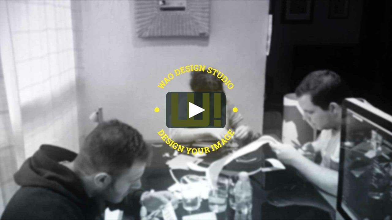 Papercraft Making Of - Navidad WAO!