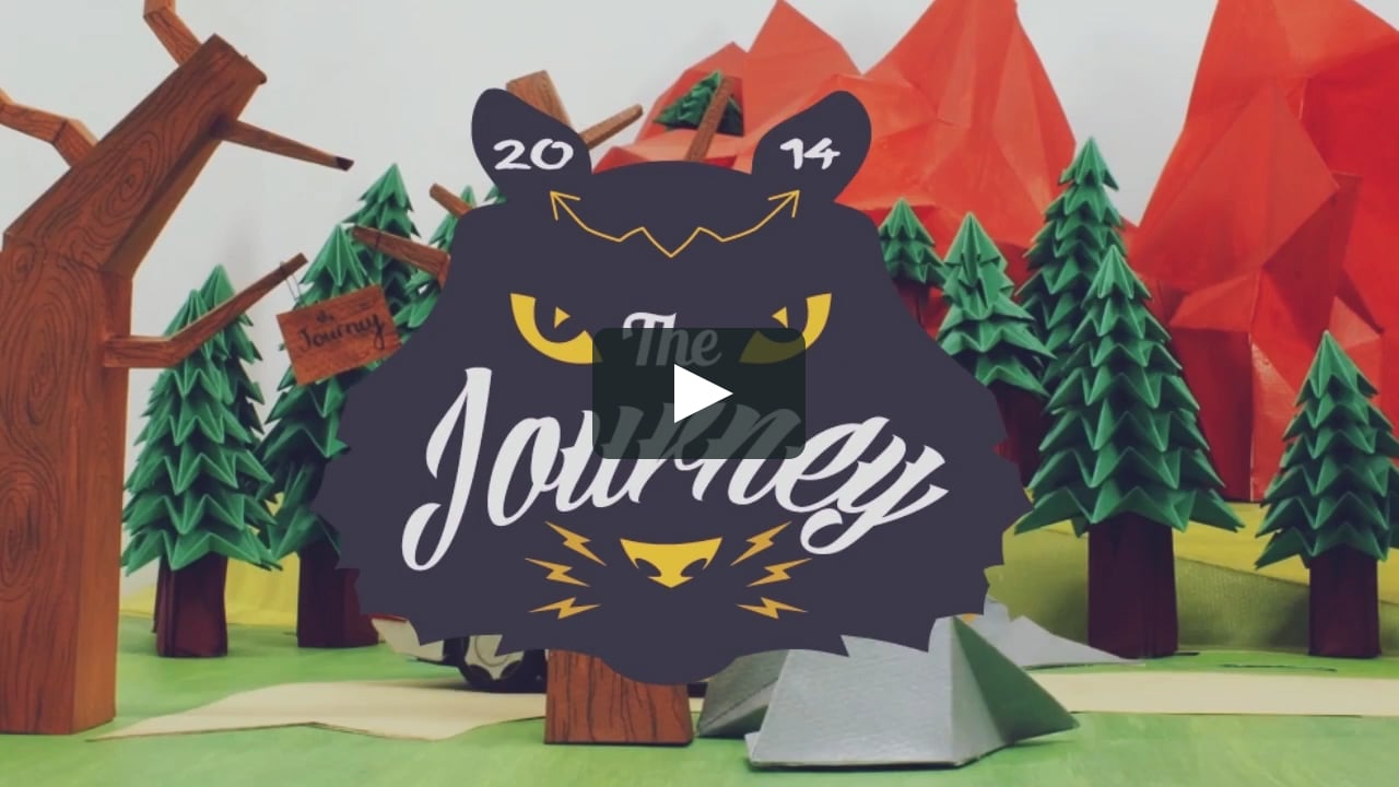 Papercraft The Journey