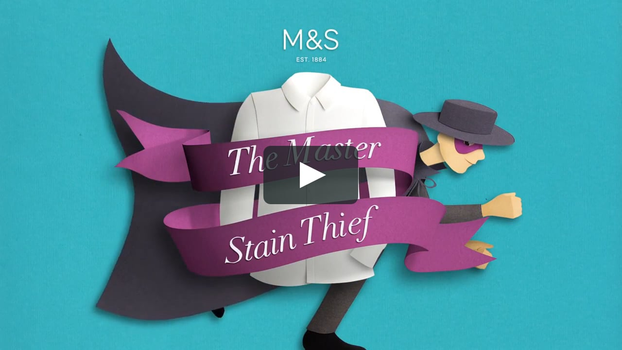 Papercraft M&S School- The Master Stain Thief