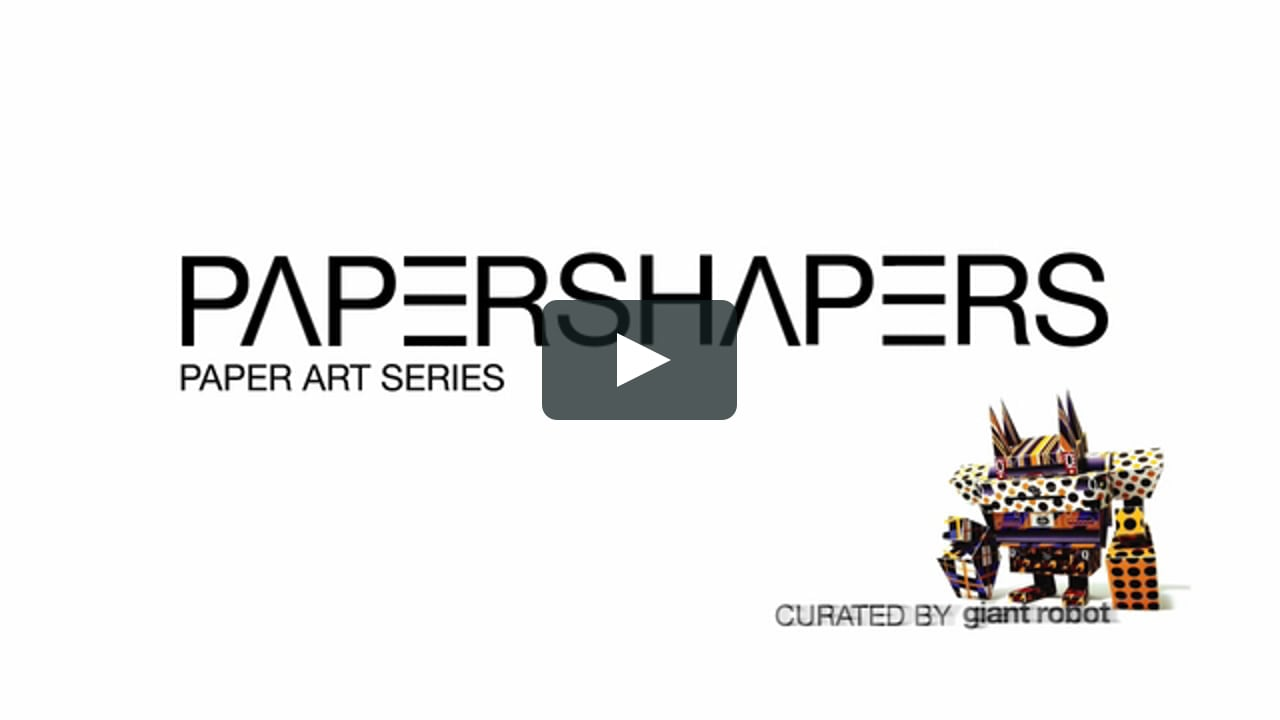 Papercraft Scion Presents: Papershapers, curated by Giant Robot