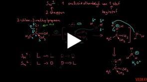 Reactiemechanisme SN1-reactie