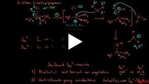 Factoren Die SN1-reactiesnelheid Beïnvloeden