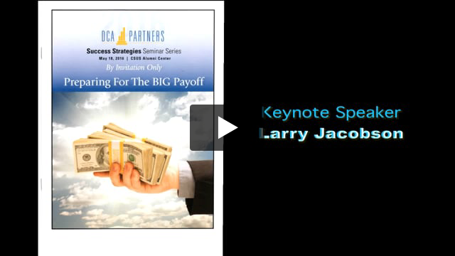 Sample video for Larry Jacobson