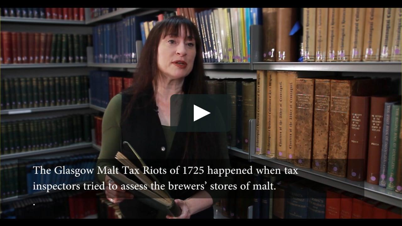 The Glasgow Malt Tax Riots on Vimeo
