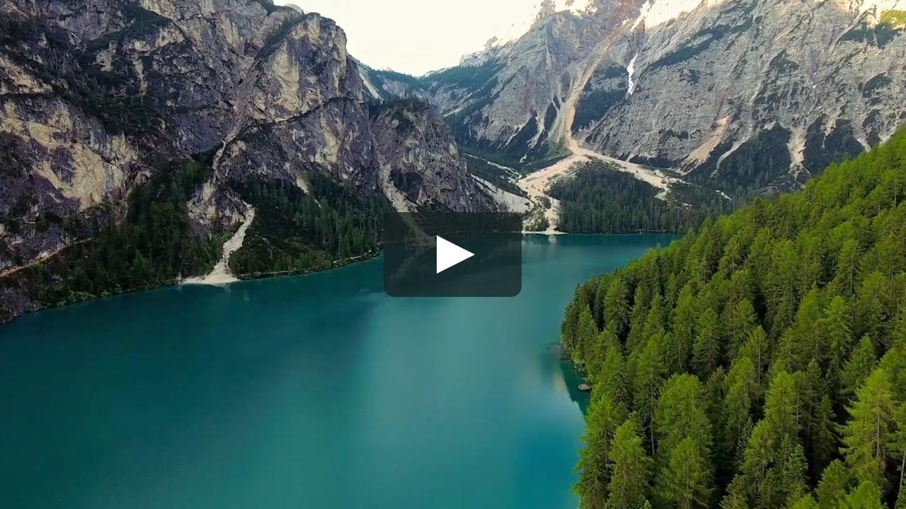 Le Dolomiti viste da un drone