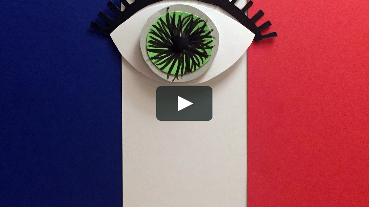 Papercraft Un 14 Juillet à Nice