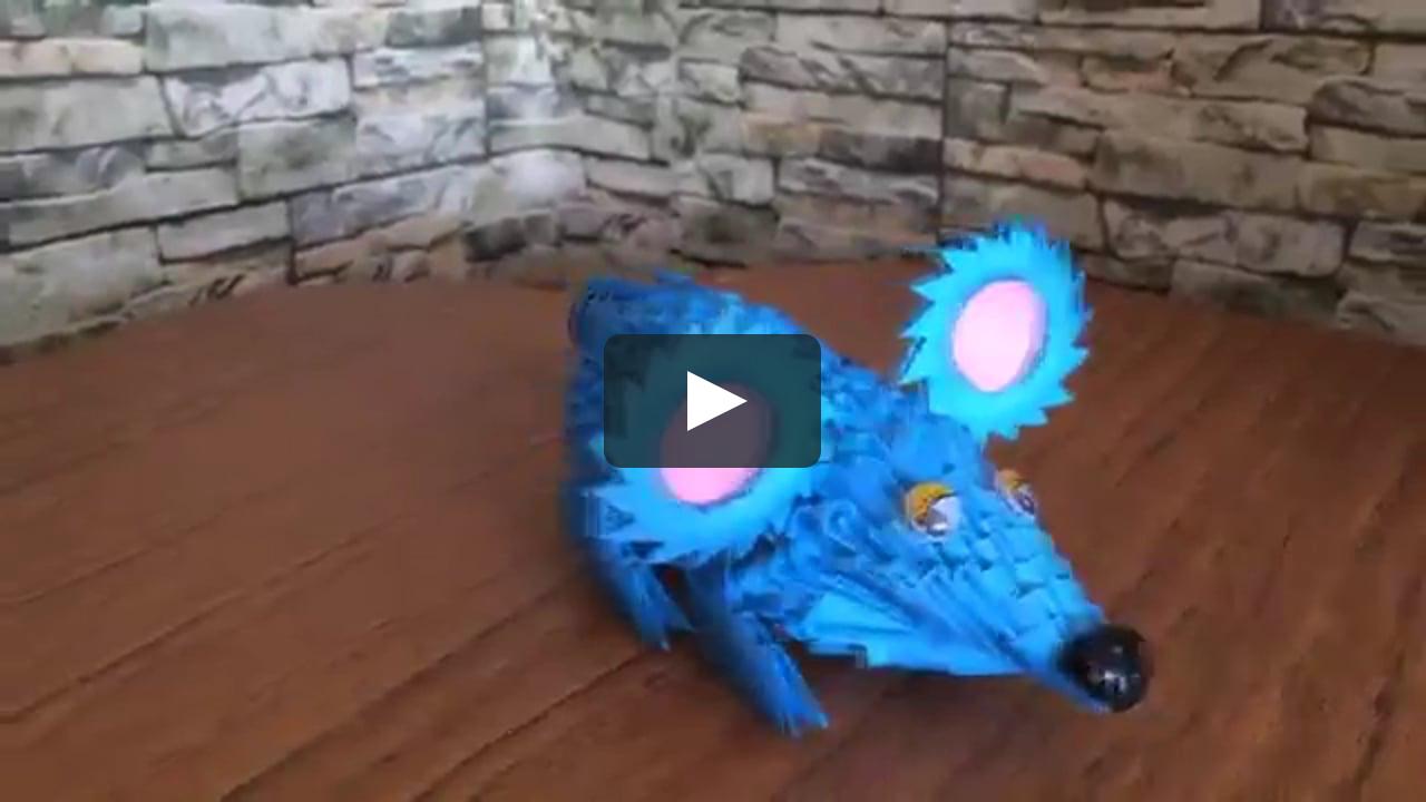 Papercraft 3D MODULAR ORIGAMI #98 RAT