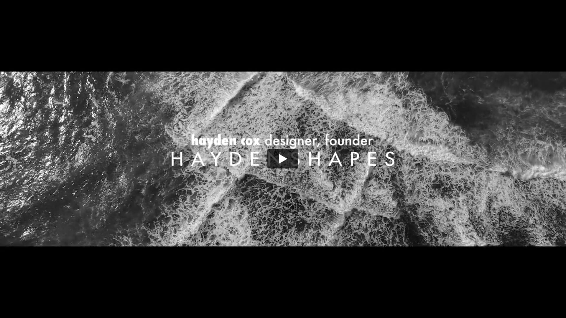 'Intuition' with Hayden Cox from Haydenshapes presented by Audi