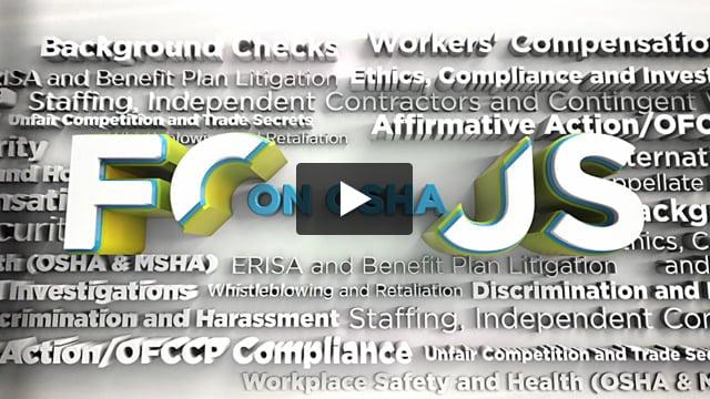 Focus On: OSHA