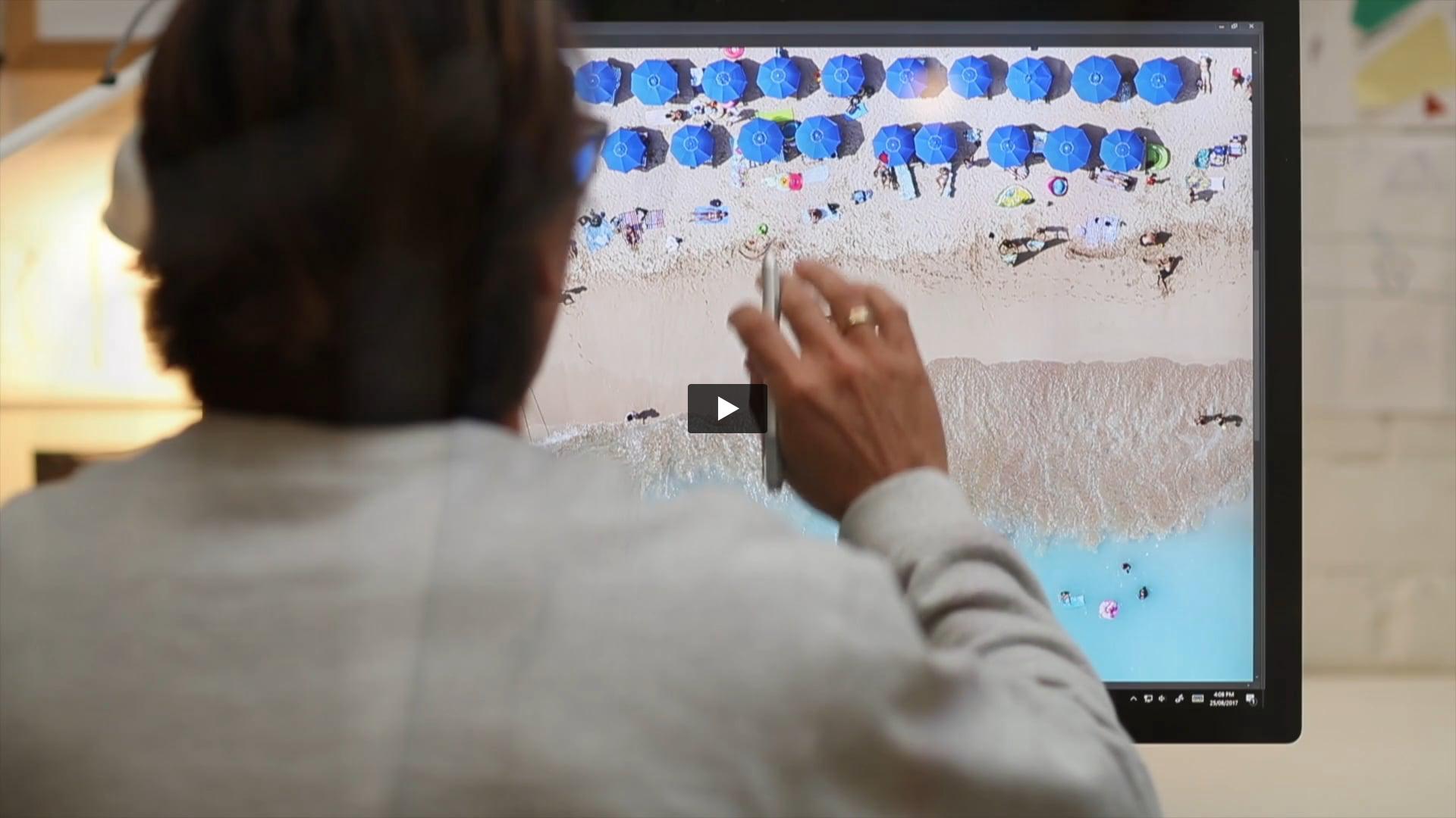 Surface Studio X Aquabumps