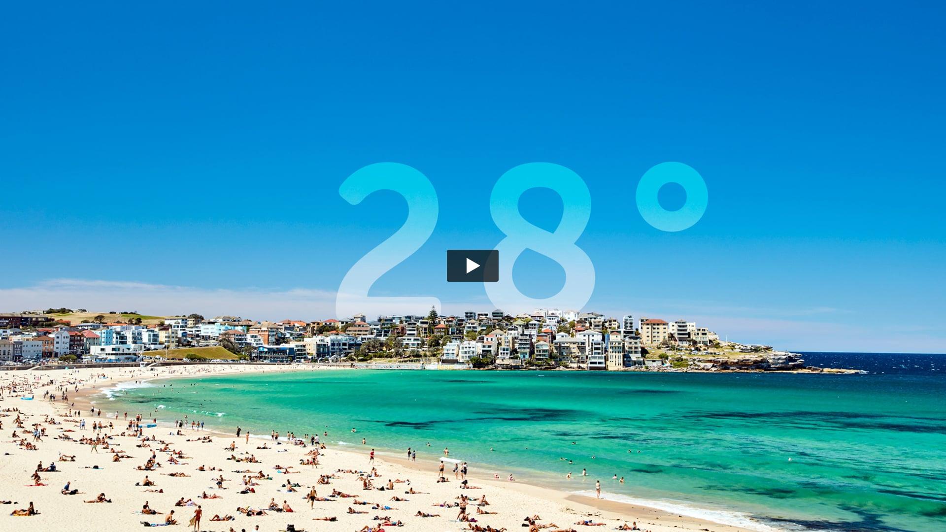 28 degree Bondi Day