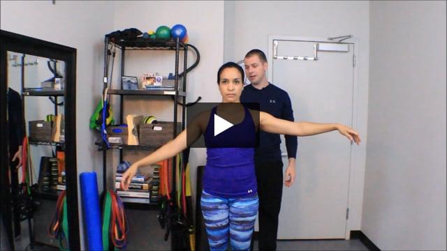Shoulder Special Test: Drop Arm Test