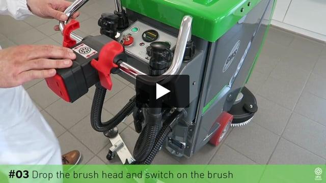 Gansow Temizlik Makineleri Fırça Değiştirme