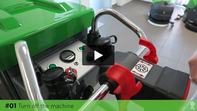 Gansow Temizlik Makineleri Şarj Etme