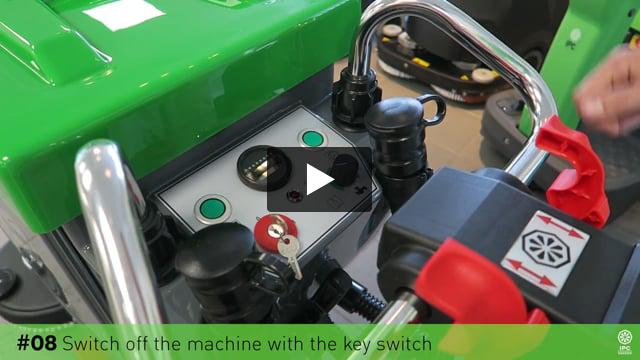 Gansow Temizlik Makineleri Kullanım Sonrası İşlemler