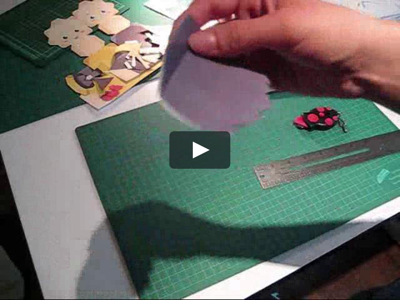 Papercraft MB: How to fold Nami & Teru Papercrafts