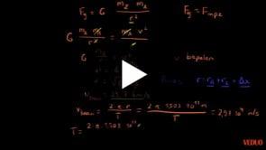 Gravitatiekracht Berekenen