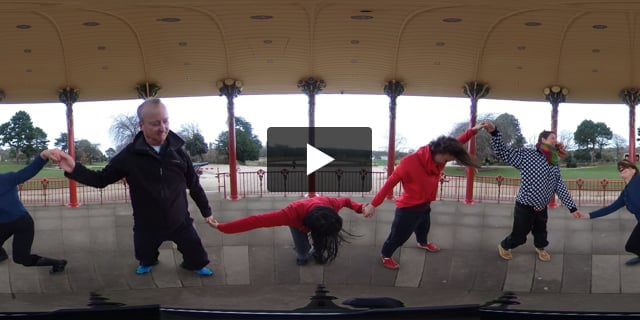 R&D  The Bandstand, Saltaire - 360 filming