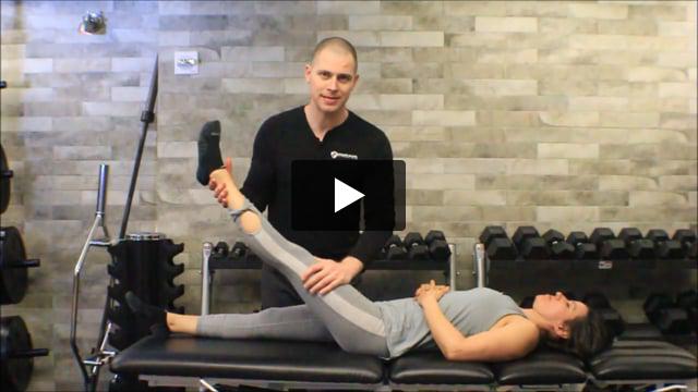 Straight Leg Raise Test and Well Leg Raise Test - video thumbnail
