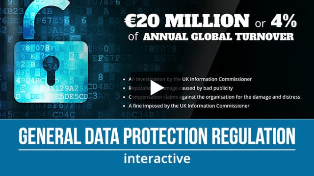 GDPR online course from Engage in Learning.