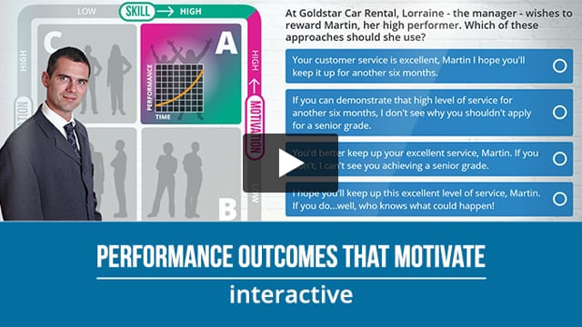 Performance Outcomes that Motivate