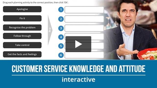 Customer Service Knowledge and Attitude