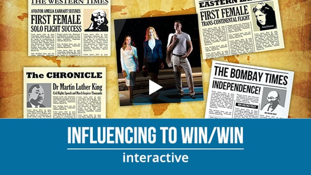 Influencing to Win/Win