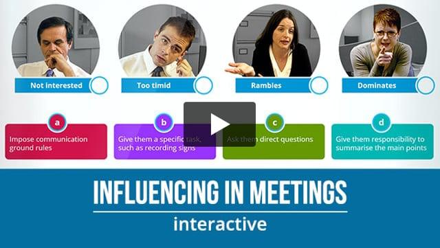 Influencing in Meetings
