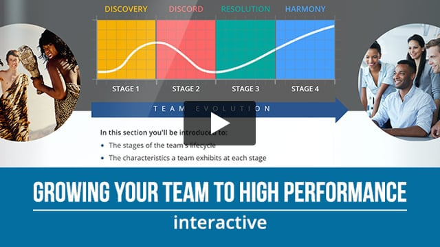 Growing your Team to High Performance