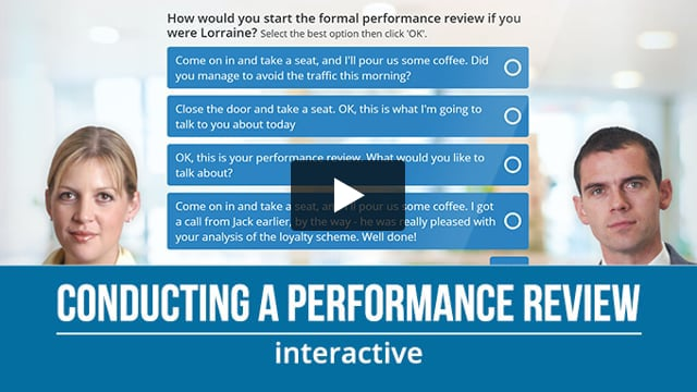 Conducting a Performance Review