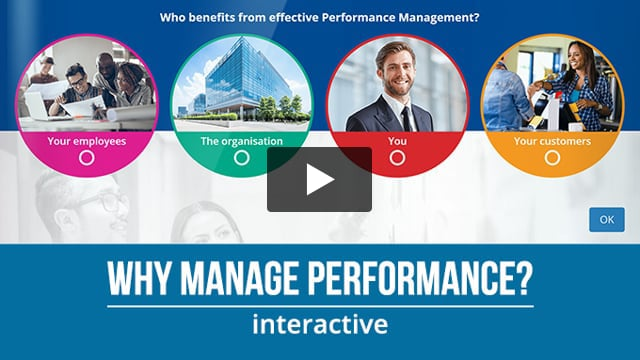 Why Manage Performance