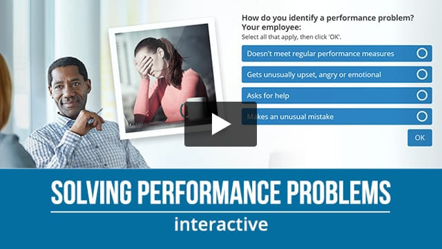 Solving Performance Problems
