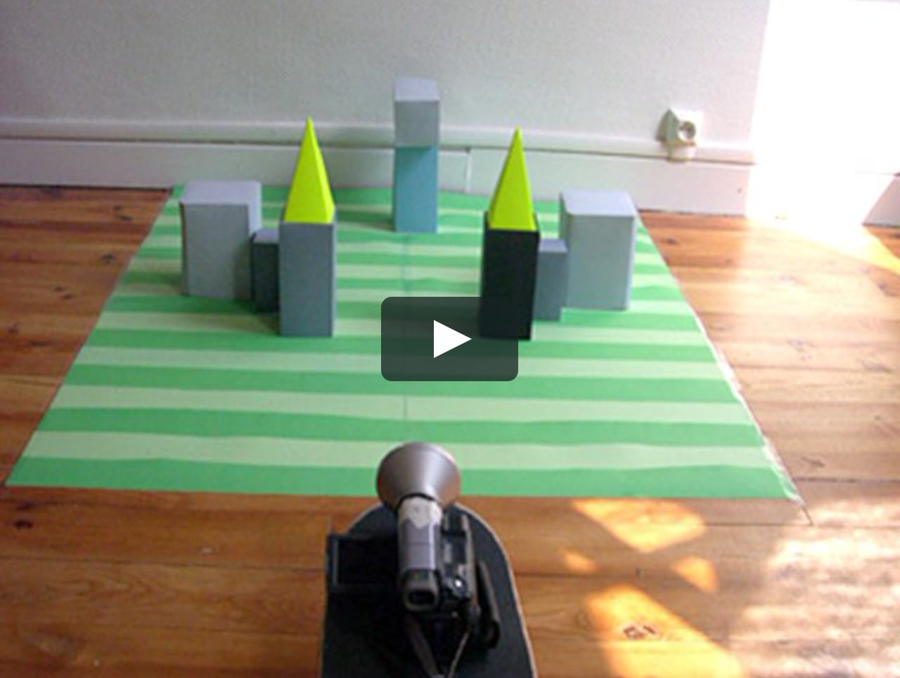 Papercraft Showreel Nuits Sonores 2007