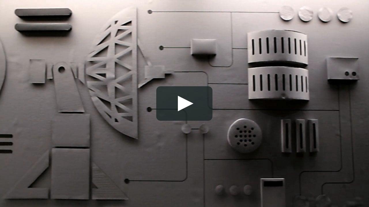 Papercraft Ryan Dahle - Shutdown