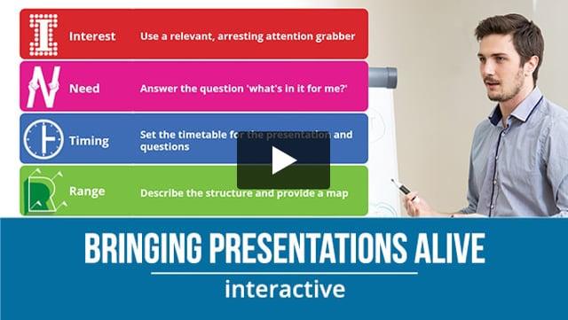Bring Presentations Alive
