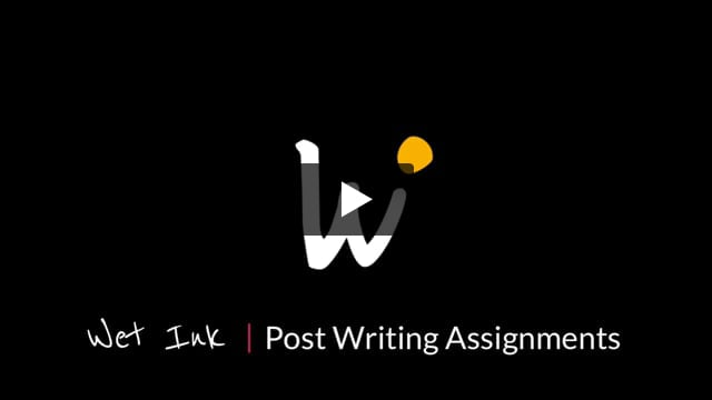 Post Writing assignments