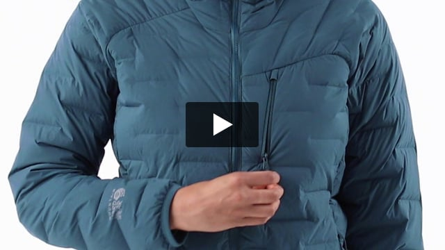 Super DS Stretchdown Hooded Jacket - Women's - Video