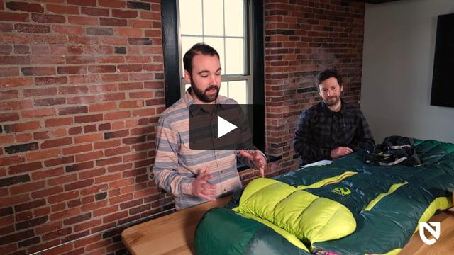 Disco 15 Sleeping Bag: 15F Down - Video