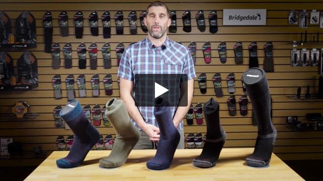 Explorer Heavyweight Merino Endurance Knee High Sock - Men's - Video