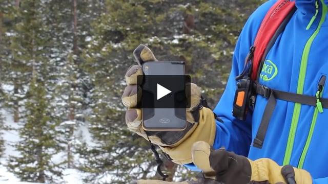 Tracker3 Avalanche Beacon - Video