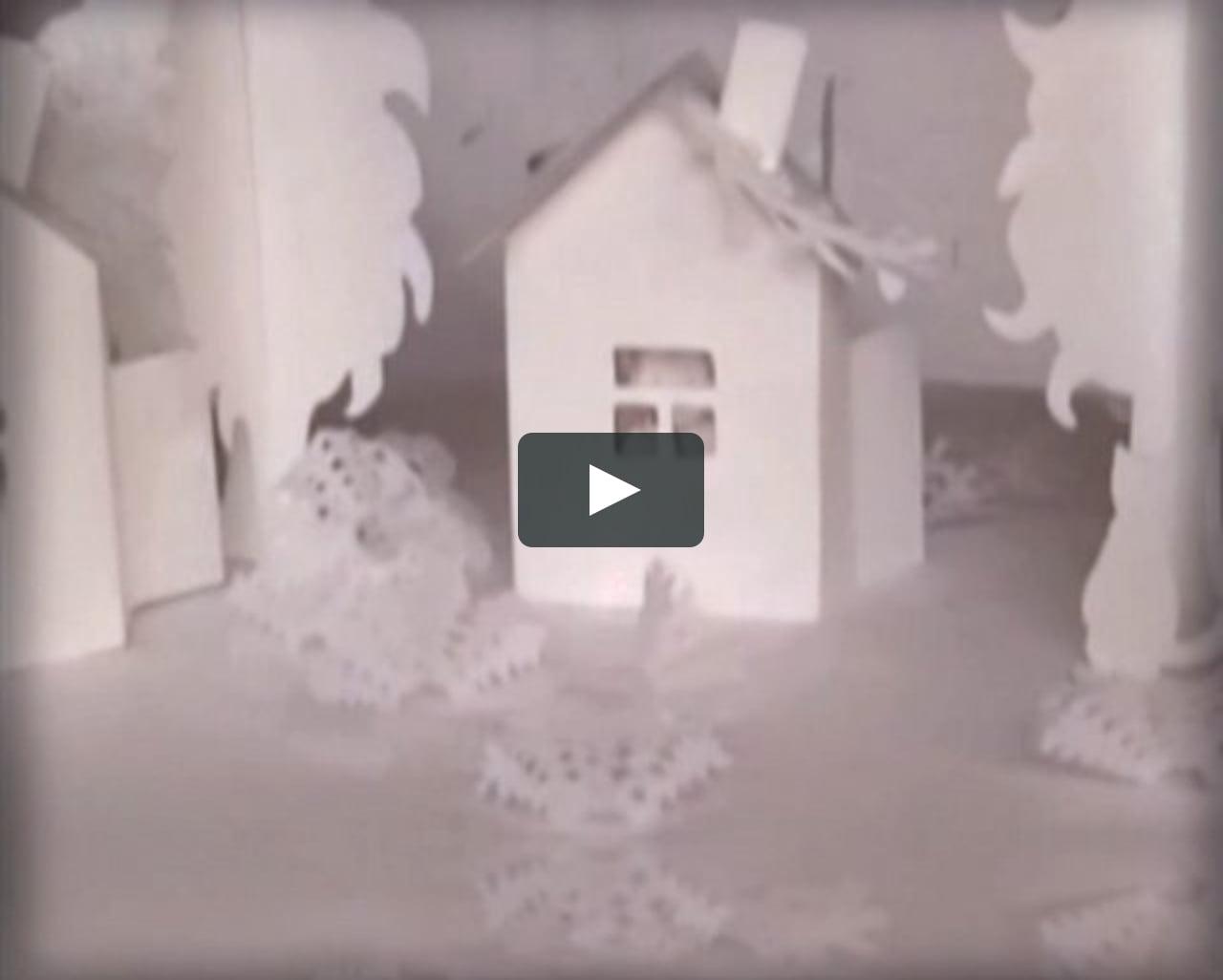 Papercraft Paper winter
