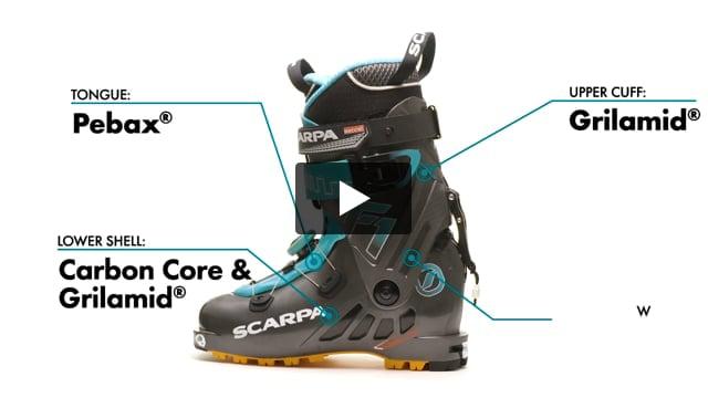 F1 Alpine Touring Boot - 2022 - Women's - Video