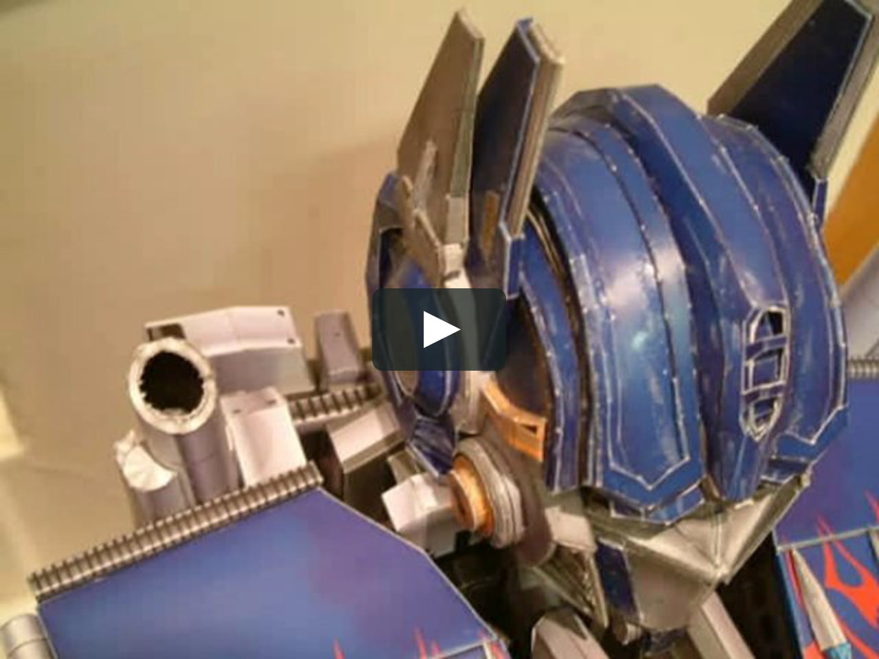 Papercraft 1M Optimus Prime Papercraft by fox186(Taiwan)