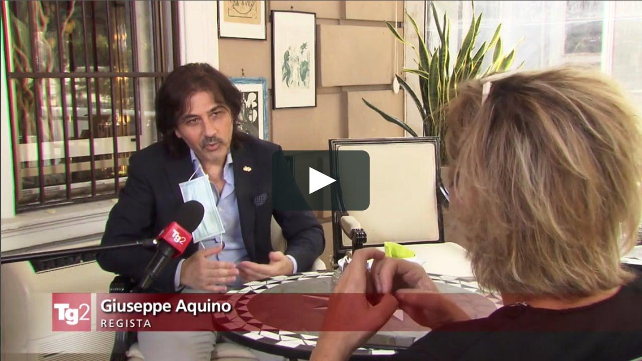 TG2 RAI Giuseppe Aquino intervista
