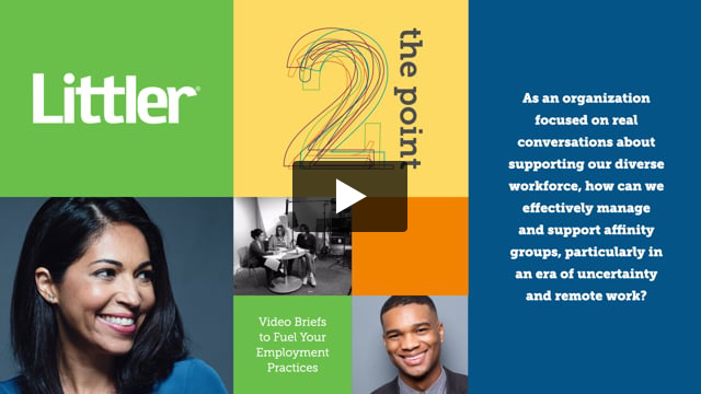 How can we effectively manage and support diversity affinity groups, particularly in an era of uncertainty and remote work?