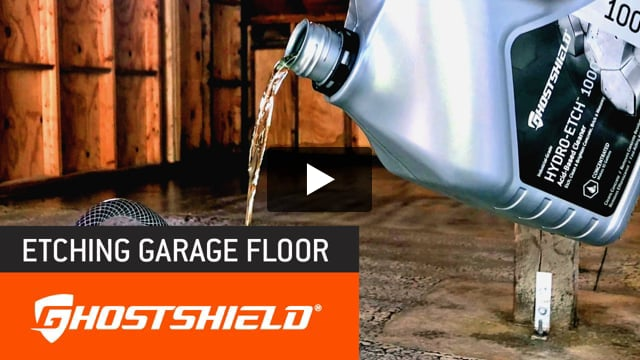 Hydro-Etch 1000™ Acid-Based Concrete Etcher & Cleaner: Hydro-Etch 1000™ takes the spotlight this week. It's a powerful acid-etching solution for cleaning concrete prior to applying a concrete sealer or one of our epoxy or urethane floor coatings.