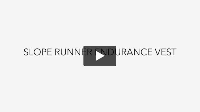 Slope Runner Endurance Vest - Video